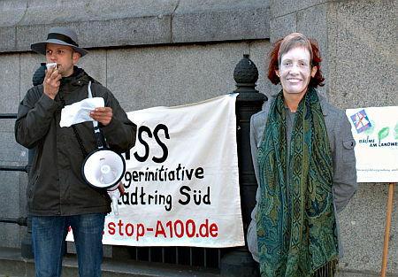 Preisverleihung an Senatorin fuer Stadtentwicklung Frau Ingeborg Junge-Reyer