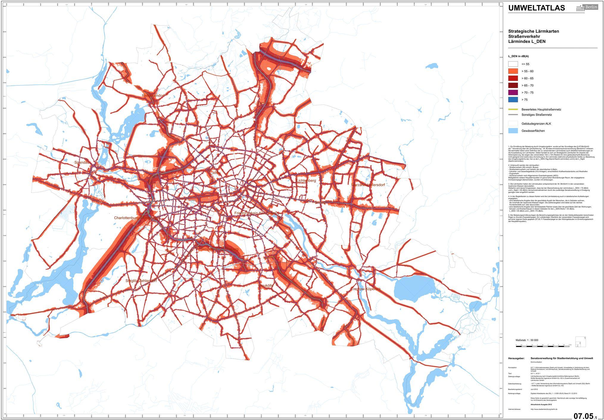 Berliner Lärmkarte