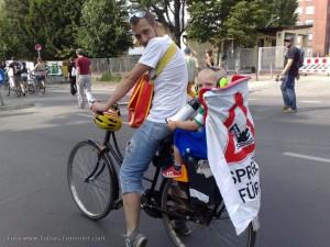 """Demo Fünf Jahre Bürgerentscheid """"Spreeufer für alle!"""" am 13.7.2013"""