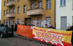 Demonstration Besetzen statt Räumen! Wohnraum statt Autobahn A100! am 22.2.2015