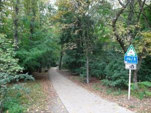 Grüner Fuß- und Radweg zwischen Gürtelstr. und Schulze-Boysen-Str.