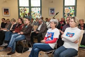 Pressekonferenz Bundesverkehrswegeplan 2030: Bürgerbeteiligung bei A100 ausgebremst? am 22.4.2016 - Publikum