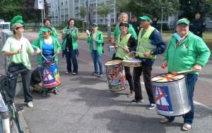 Trommelgruppe Green Igelz