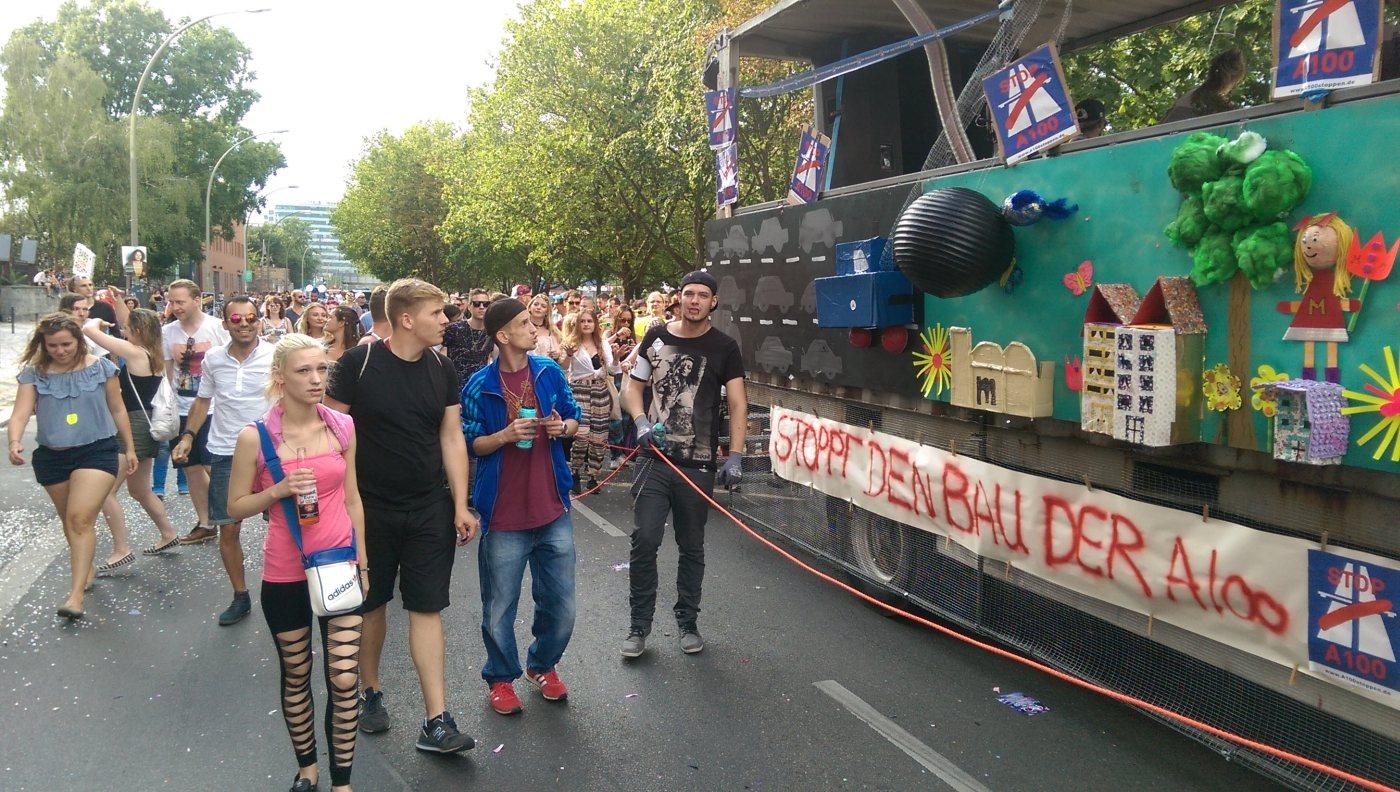 Zug Der Liebe Aktionsbündnis A100 Stoppen