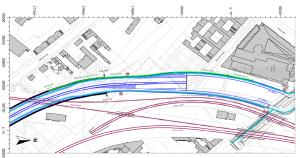 A100: Bild 1.1 Übersichtslageplan der Antragsvariante