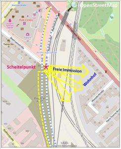 Abbildung 3 Verlauf der A100 AS Am Treptower Park