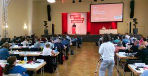 Rede von Tobias Trommer beim Parteitag der Linkspartei am 1.7.2017