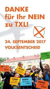 Berlin braucht den Flughafen Tegel? Nein beim Volksentscheid am 24.9.2017