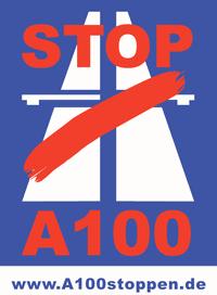 Logo Aktionsbündnis A100 stoppen!