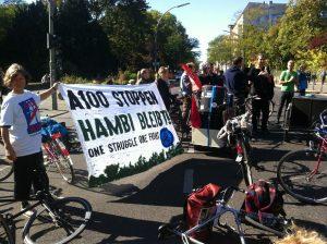 Aktion Hambi retten am 30.9.2018 – Rodung des Hambacher Forstes durch RWE gestoppt