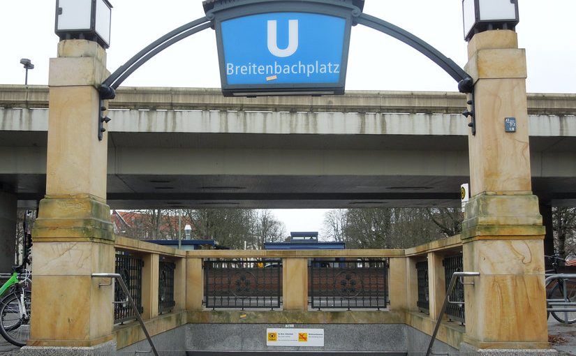 Breitenbachplatz Berlin Stadtautobahn