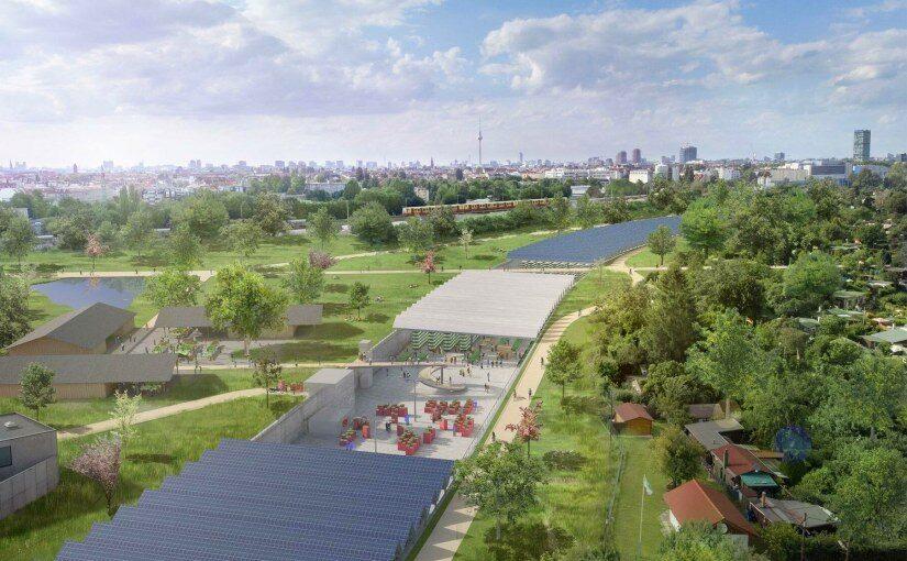 Umnutzungskonzept der A100-Baustelle: Gemüseanbau in der Morgenfarm Berlin statt Abgase und Autobahn-Lärm